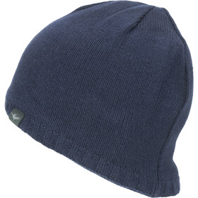 Sealskinz Waterproof Cold Weather Muts met klep, navy blue